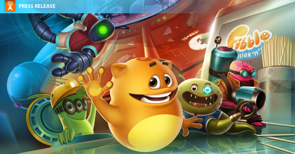 Crytek puzzler Fibble – Flick 'n' Roll available to download from the App Store now!